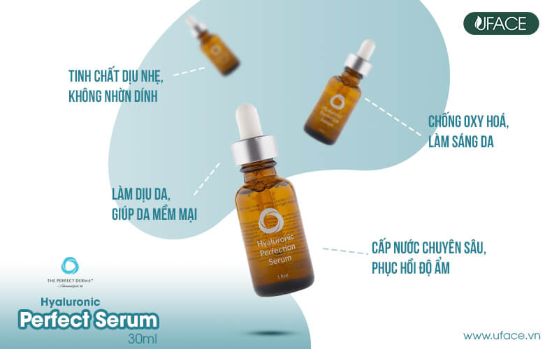 The Perfect Derma Hyaluronic Perfection Serum With Peptides