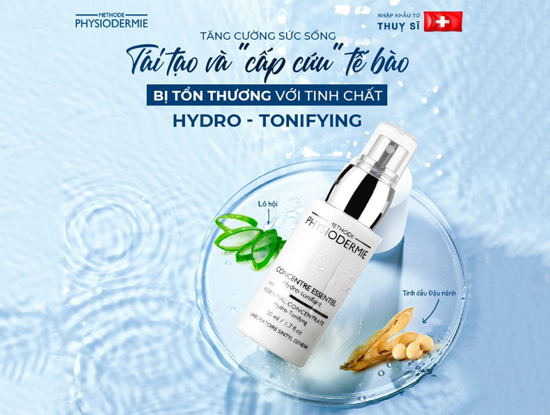 Tinh chất chống lão hoá-Methode Physiodermie Essential Concentrate Hydro Tonifying