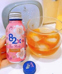 Review Nước uống bổ sung collagen 82X The Pink Collagen